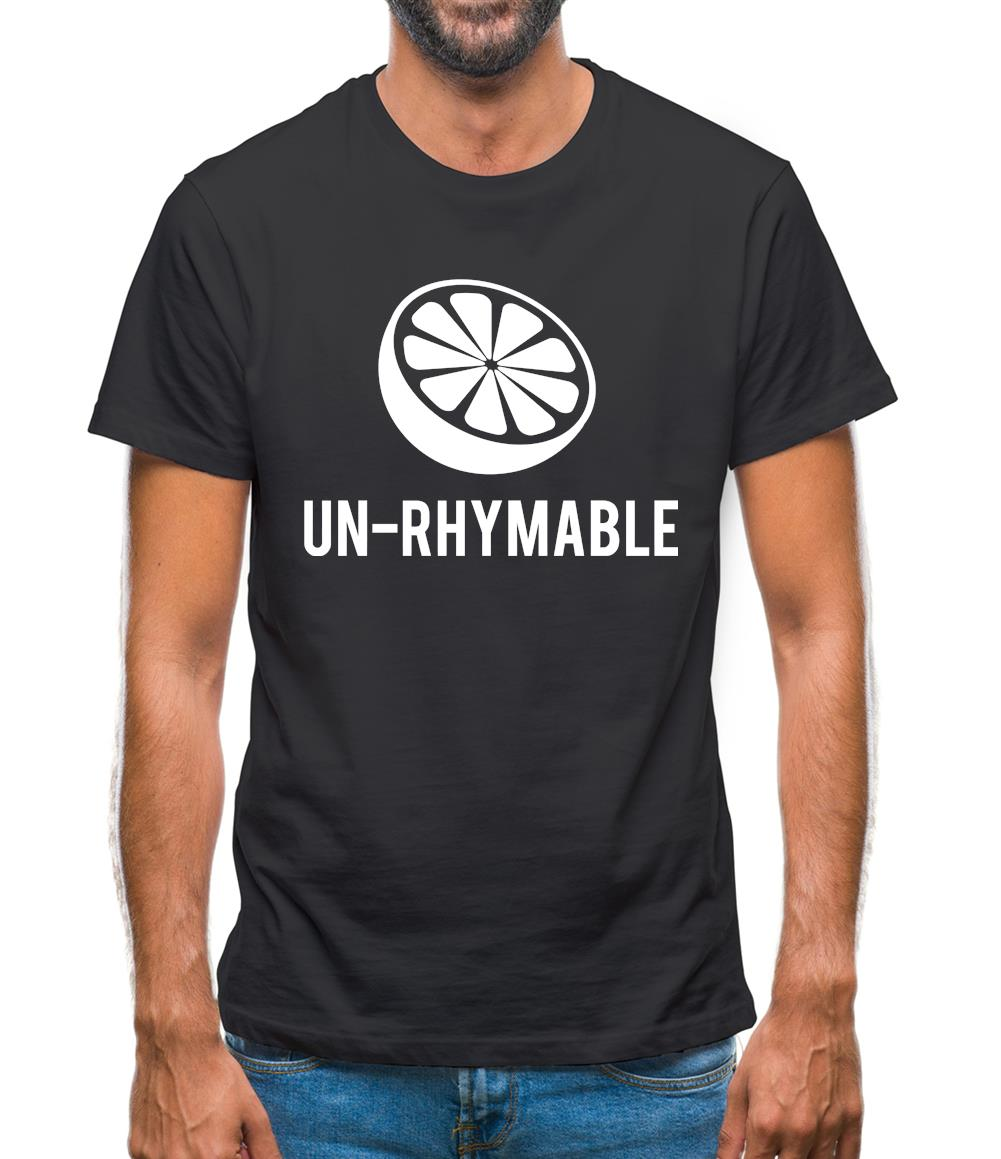 Un-Rhymable Mens T-Shirt
