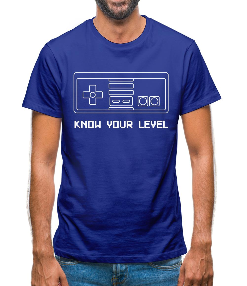 Know Your Level Mens T-Shirt