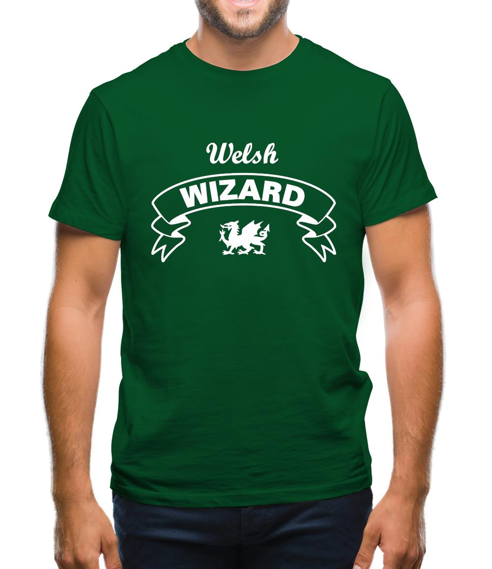 Welsh Wizard Mens T-Shirt