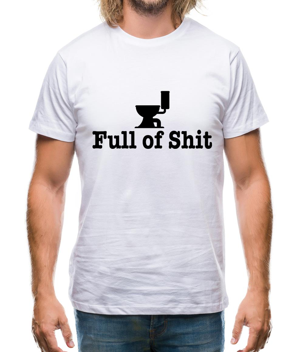 Full Of Shit Mens T-Shirt