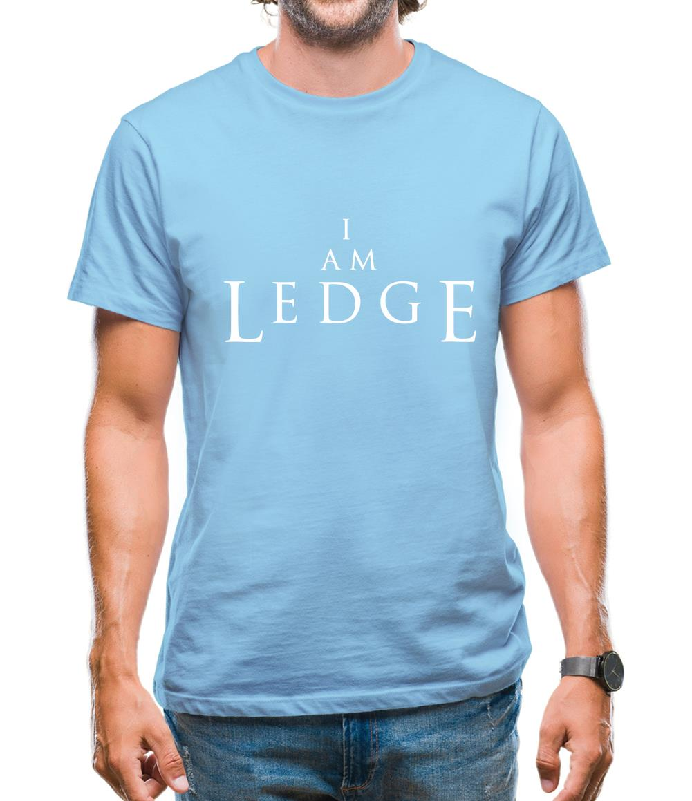 I Am Ledge Mens T-Shirt