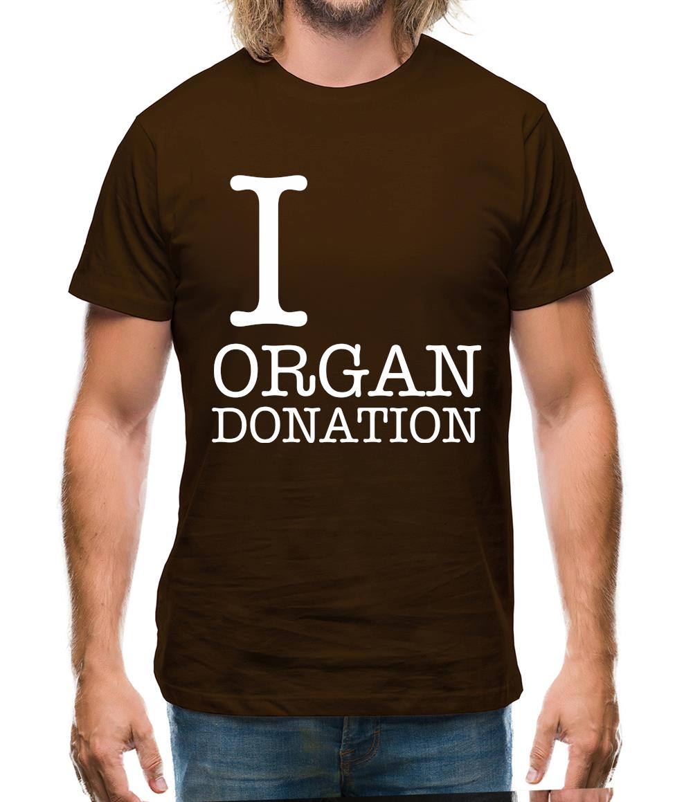 I Heart Organ Donation Mens T-Shirt