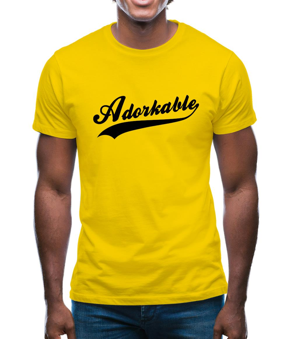 Adorkable Mens T-Shirt