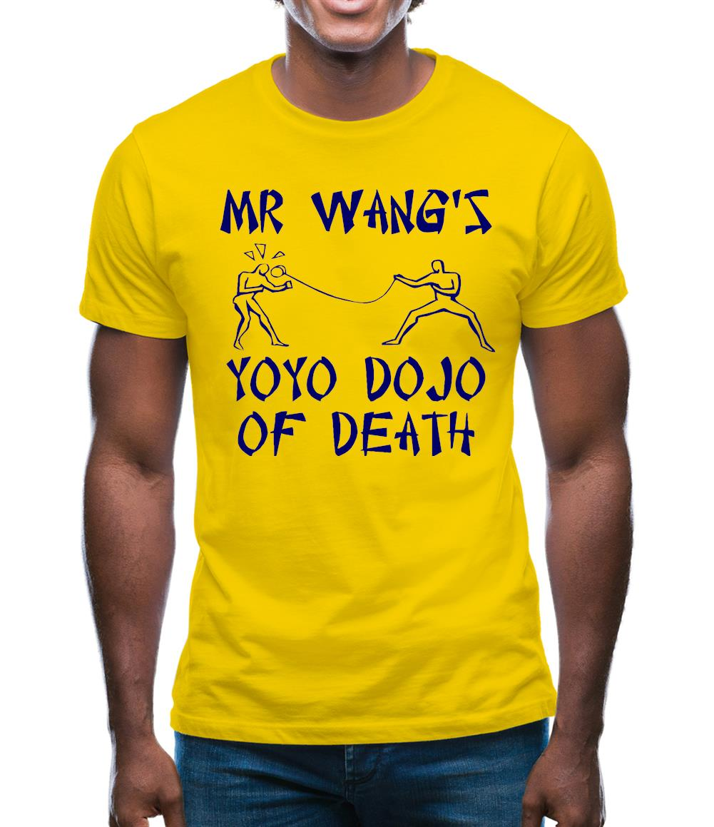 Mr Wang's yoyo dojo of death Mens T-Shirt