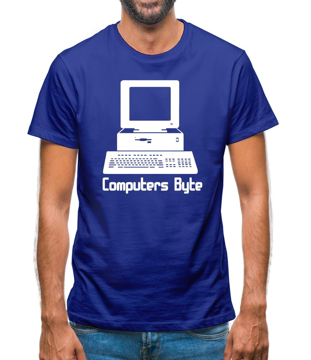 Computers Byte Mens T-Shirt