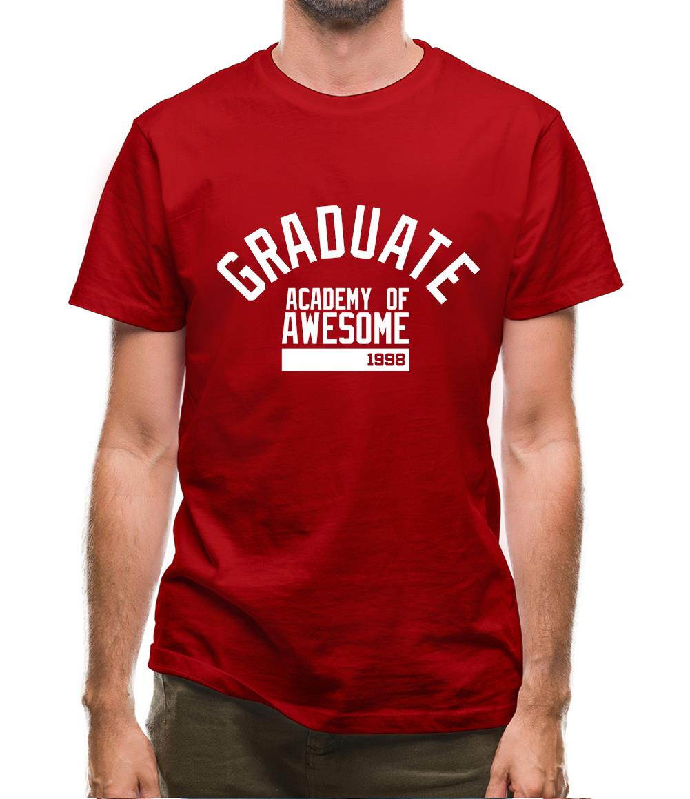 Graduate Academy Of Awesome 1998 Mens T-Shirt