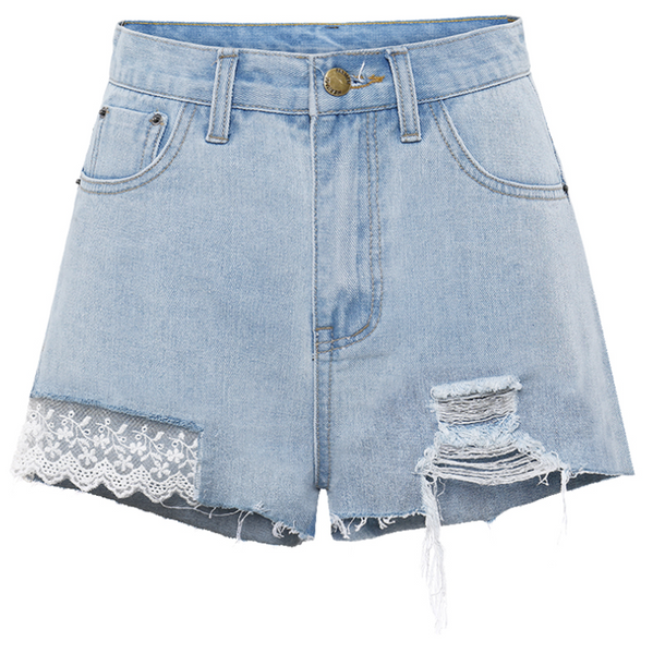Sakura Denim Shorts