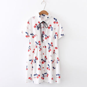 Nora Cherry Dress