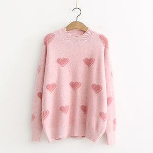 Clara Hearts Sweater