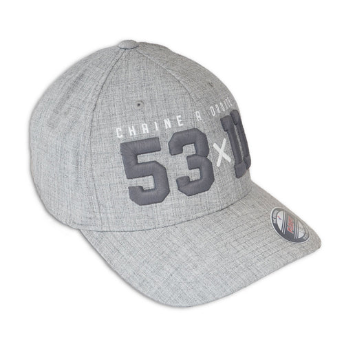 S&D 53x11 Cap grey
