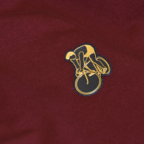 S&D Rider Icon Polo bordeaux