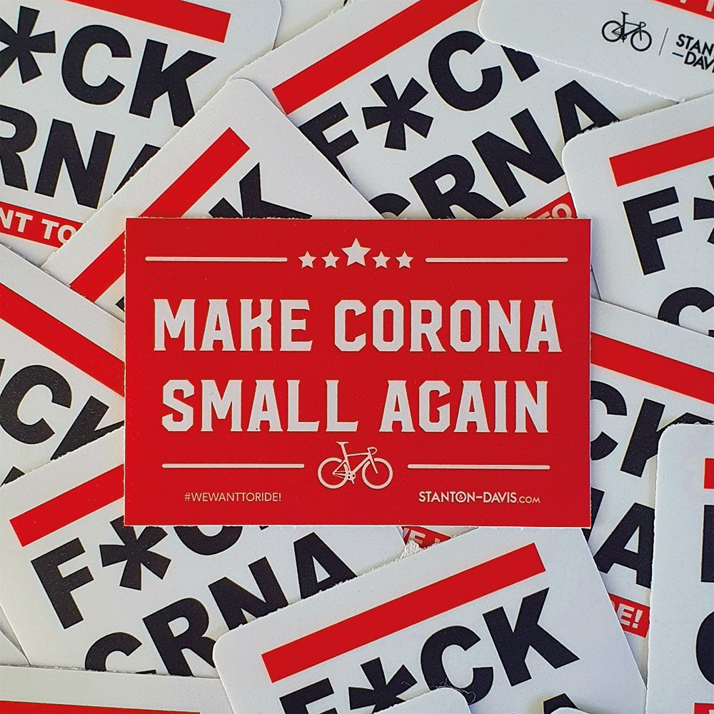 F*CK CORONA Sticker-Set