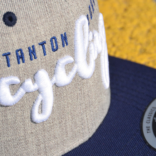 S&D Snapback Cap grey-navy