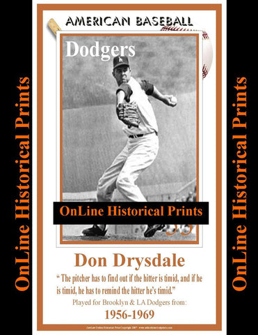 Don Drysdale -Brown Collection
