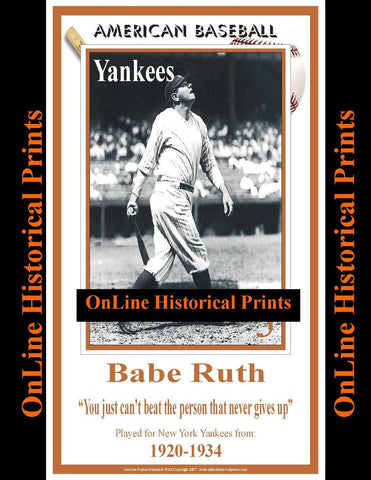 Babe Ruth -Brown Collection