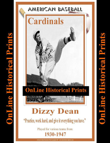 Dizzy Dean -Brown Collection