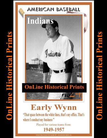 Early Wynn -Brown Collection