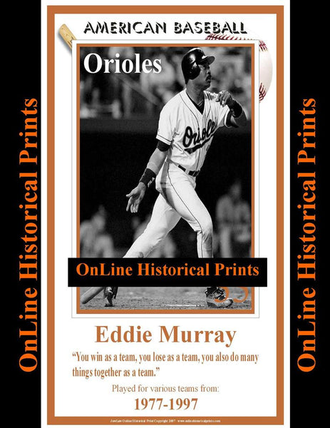 Eddie Murray -Brown Collection