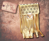 Smartphone Mini Crossbody Bag - Gold