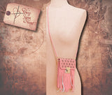 Smartphone Mini Crossbody Bag - Pink
