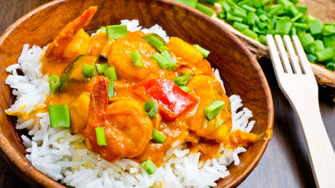 Golden Curry Shrimp SUPERBowl