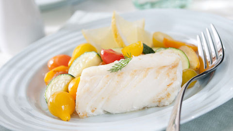 Spanish Cod with Mediterranean Tapenade
