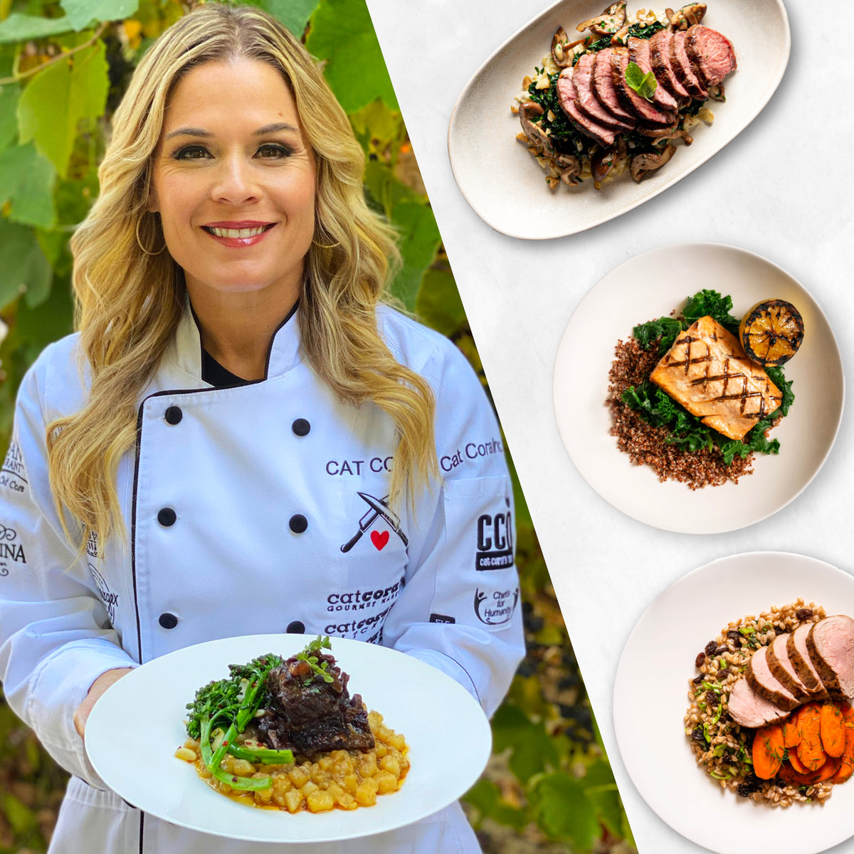 7 Meals - Take a week off by Cat Cora - Homebistro