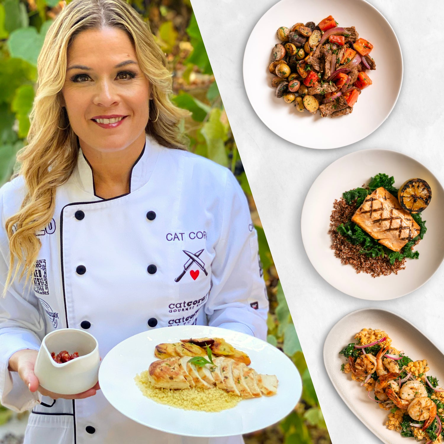 14 Meals - Lunch and Dinner by Cat Cora - Homebistro