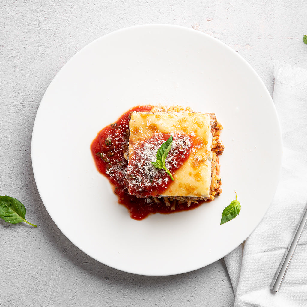 Greek Lasagna with Beef Bolognese, Bucatini Pasta and Bechamel Sauce  - Homebistro