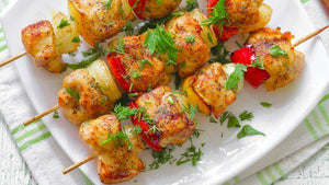 Individual Meals - Mediterranean Chicken And Fruit Kabob