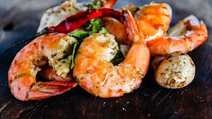 Mediterranean Shrimp and Gratin Individual Meals Homebistro