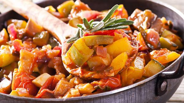 Moroccan Ratatouille with Peri Peri Sauce