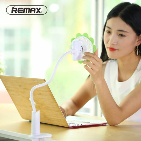 Remax Sunflower Clip Fan Three Level Speed Yellow
