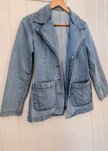 Denim Blazer Jacket