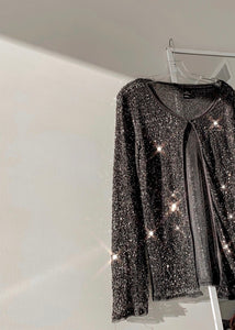 Sequin Blouse Jacket