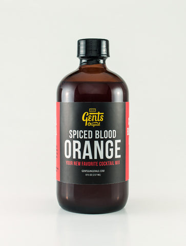 Blood Orange Gents Cocktail Syrup