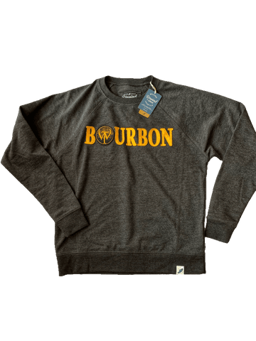 Bourbon Sweatshirt with Cloth Letters