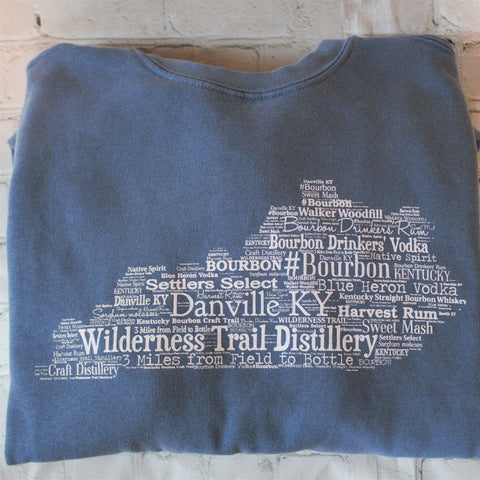 KY Word Cloud Sweatshirt