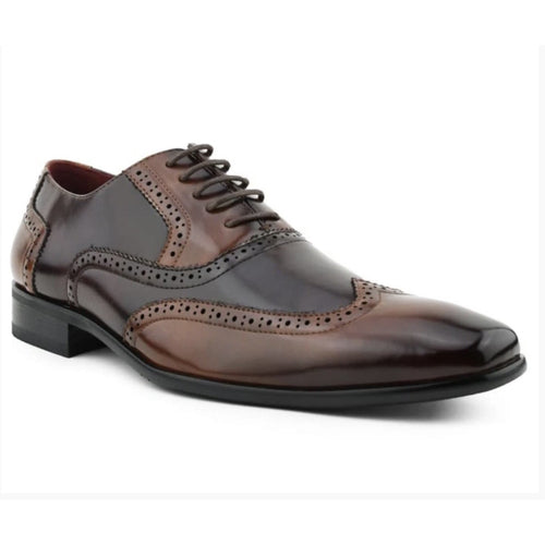 Men's Dress Two Tone Oxford Lace Up