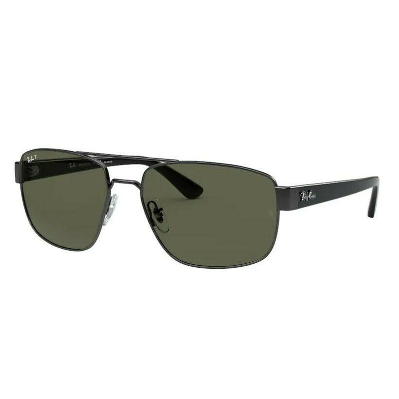 Ray Ban Shiny Gunmetal Polarized - RB3663