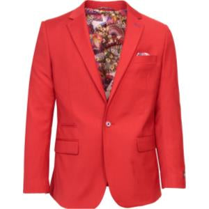 Men's Solid Sports Coat