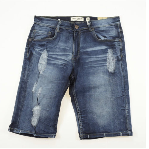 Men's Jeans Ripped Shorts - Evolution