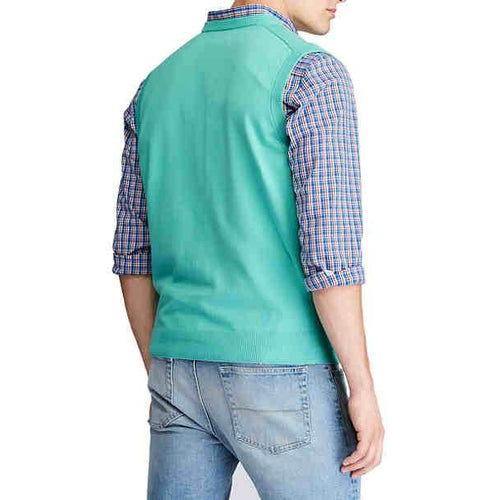 Chaps Cotton Sweater Vest