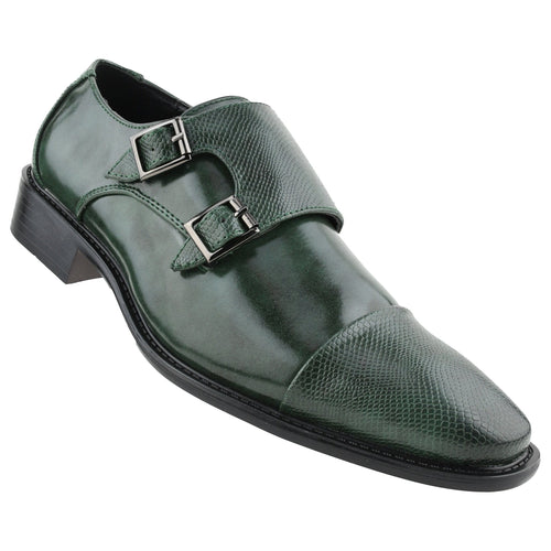 Men's Dress Bolano Monk Strap Shoes
