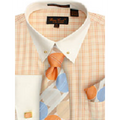 Men's Bruno Conte Plaid Dress Shirt