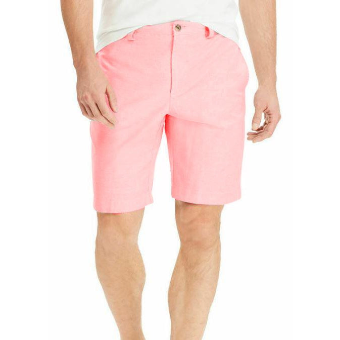 Chaps Stretch Oxford Shorts-DF
