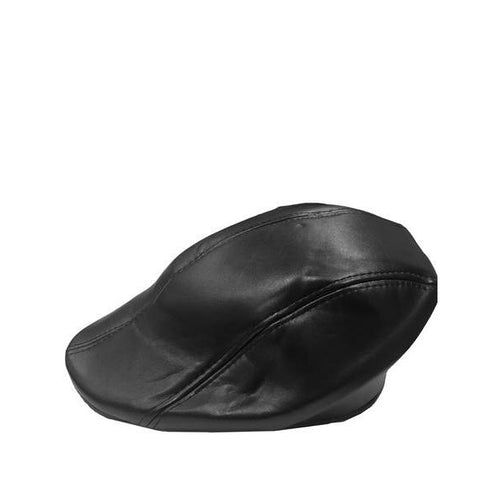 Men's Cabbie Leather Hats - DF