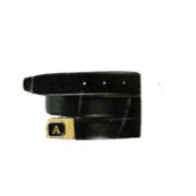 Initial Leather Belt