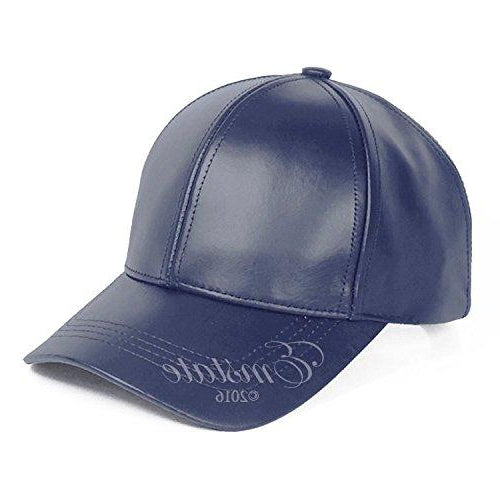 Men's Genuine Leather Baseball Cap -Emstate