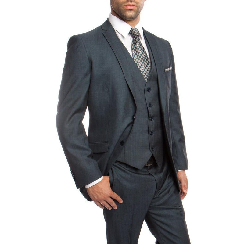 Men's 3pc Suit - Tazio